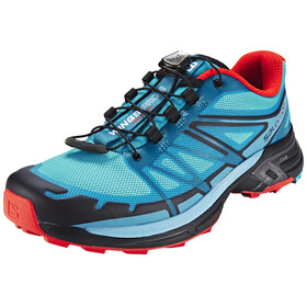 Salomon Wings Pro 2 Løbesko Damer sort/turkis